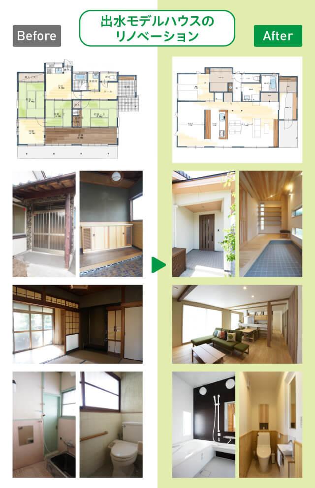 出水モデルハウスのリノベーション-sp