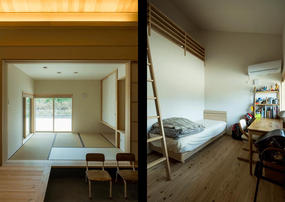 木の家|熊本の新築建築事例|平屋|3LDK|和室|寝室|エコワークス|CASE-14|内観03