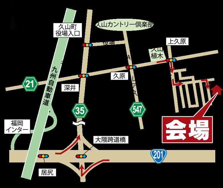 200125-福岡県粕屋郡久山町-map