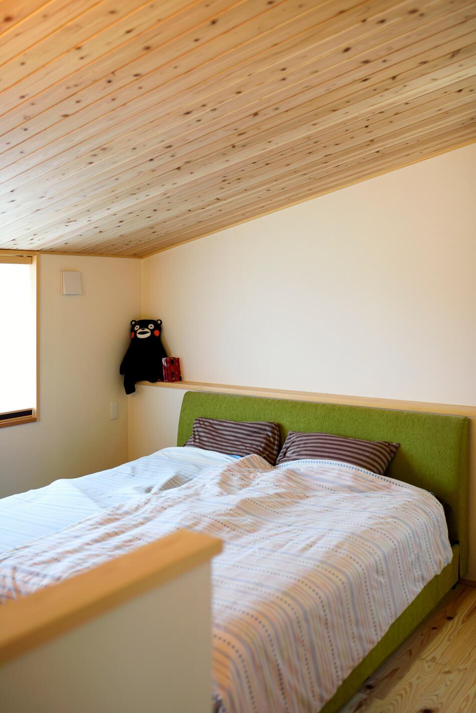 木の家|熊本の新築建築事例|2階建|4LDK|寝室|エコワークス|CASE-19|内観08