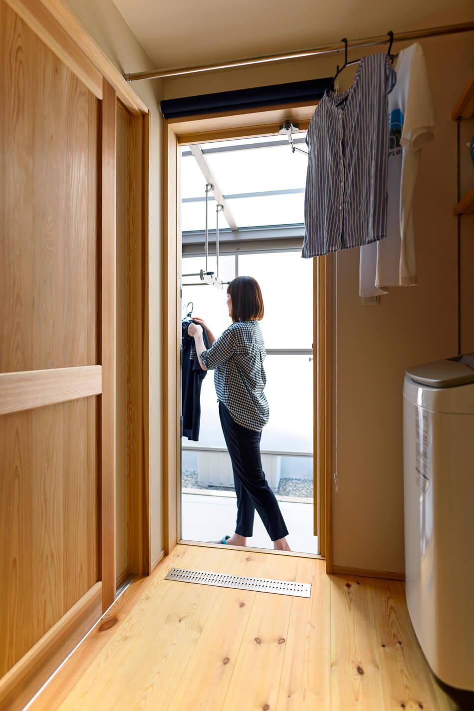 木の家|熊本の新築建築事例|2階建|4LDK|家事スペース|エコワークス|CASE-19|内観09