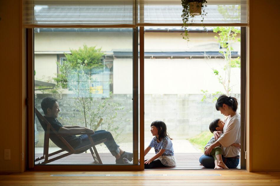 木の家|福岡の新築建築事例|平屋|3LDK+ロフト|窓|エコワークス|CASE-20|内観02