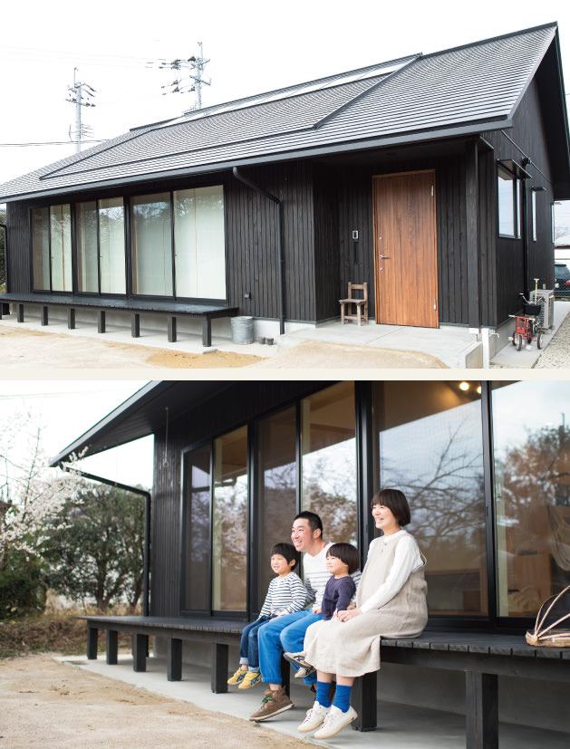 木の家|福岡の新築建築事例|平屋|3LDK|外観|ウッドデッキ|エコワークス|CASE-02|内観02