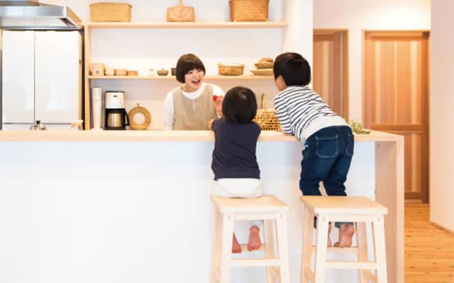 木の家|福岡の新築建築事例|平屋|3LDK|考え抜いたから、たどり着いたシンプルかつ美しい整った住まい|エコワークス|CASE-02