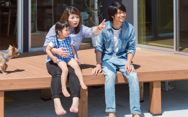 木の家|福岡の新築建築事例|平屋|4LDK|窓の外には耳納連山の大パノラマ!自慢の眺めを味方にした、優しい木の家|エコワークス|CASE-04