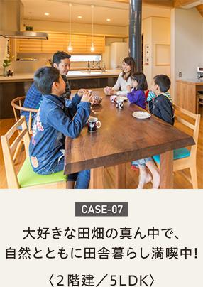 case07-大好きな田畑の真ん中で、自然とともに田舎暮らし満喫中!