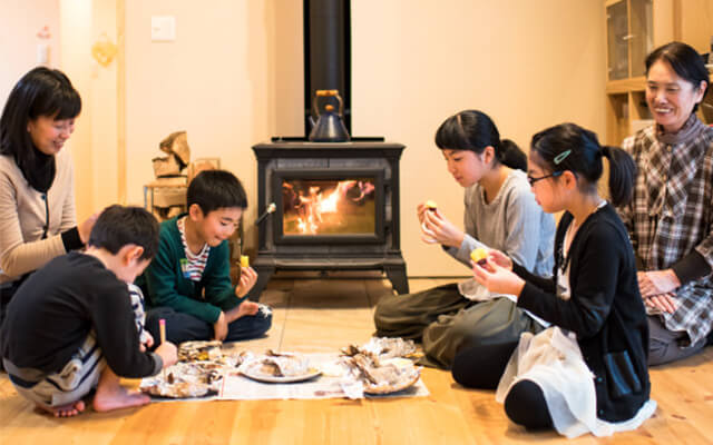 木の家|熊本の新築建築事例|平屋|4LDK|家族が健康でありますように願いを込めた、ぬくもりの我が家|エコワークス|CASE-09