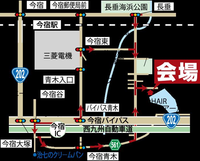完成見学会-今宿東-地図