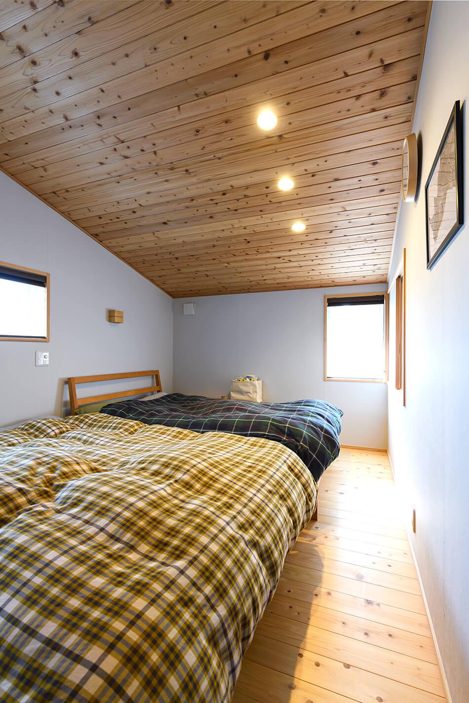 木の家|福岡の新築建築事例|2階建|4LDK|寝室|エコワークス|CASE-22|内観05