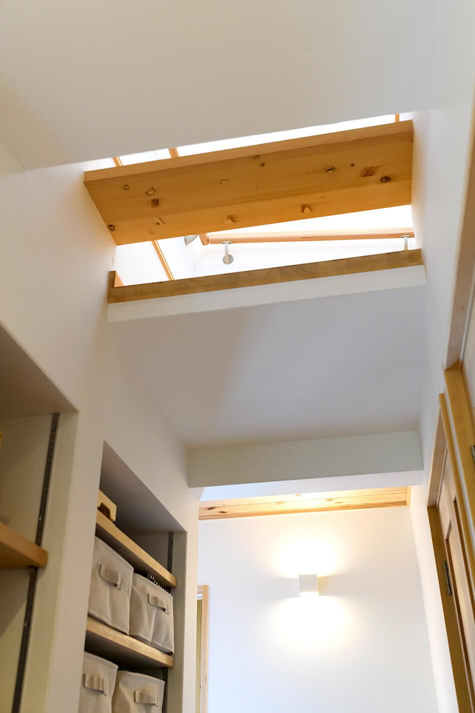 木の家|福岡の新築建築事例|2階建|4LDK|吹抜け|エコワークス|CASE-22|内観09