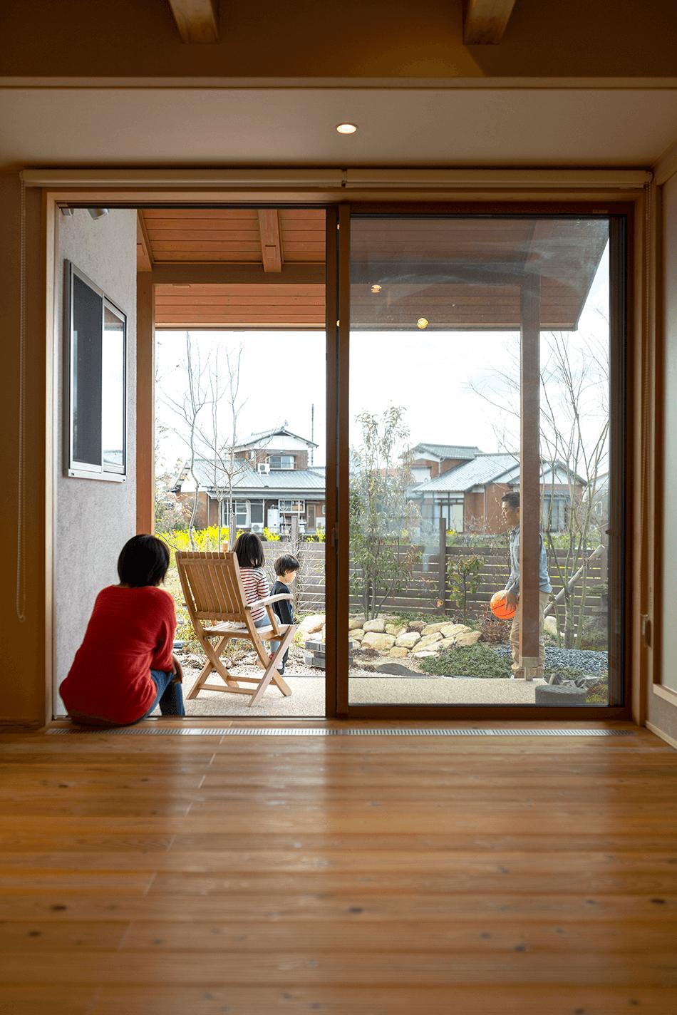木の家|福岡の新築建築事例|平屋|3LDK|窓|エコワークス|CASE-23|内観09