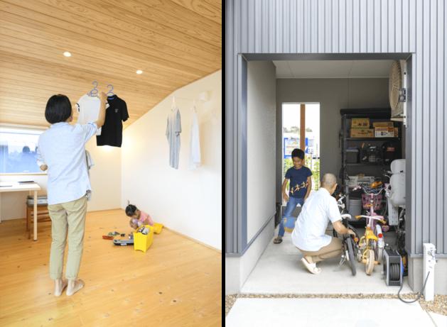 木の家|福岡の新築建築事例|2階建|3LDK|フリースペース|ガレージ|エコワークス|CASE-24|内観04