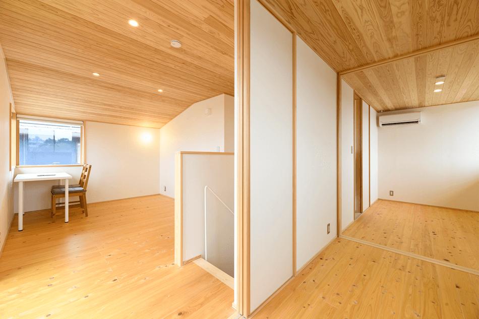 木の家|福岡の新築建築事例|2階建|3LDK|洋室|エコワークス|CASE-24|内観06