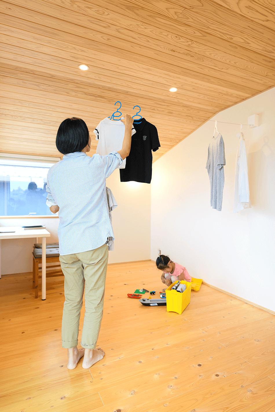 木の家|福岡の新築建築事例|2階建|3LDK|フリースペース|エコワークス|CASE-24|内観08