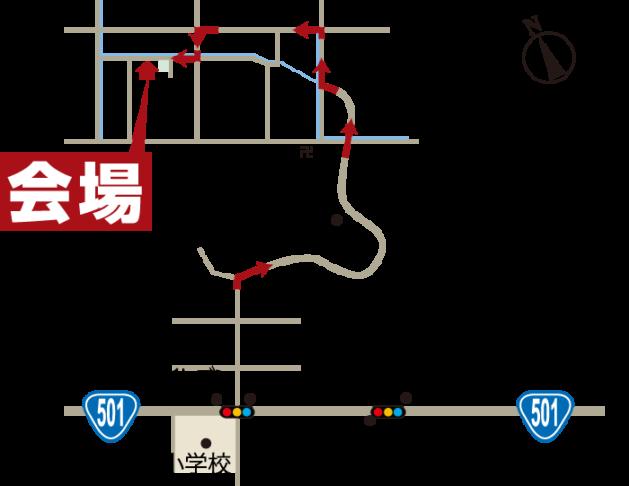 完成見学会 12月12日13日 玉名市 地図