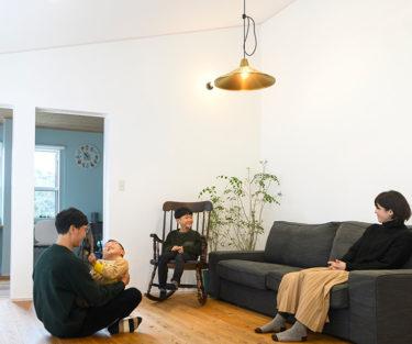 木の家|福岡の新築建築事例|平屋|2LDK|エコワークス|CASE-26|リビング