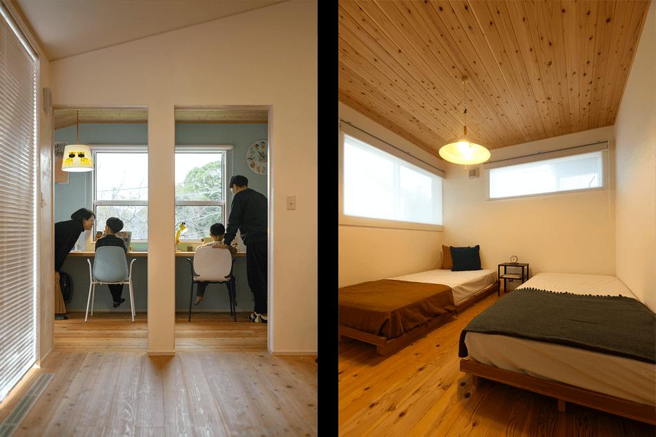 木の家|福岡の新築建築事例|平屋|2LDK|外観|エコワークス|CASE-26|